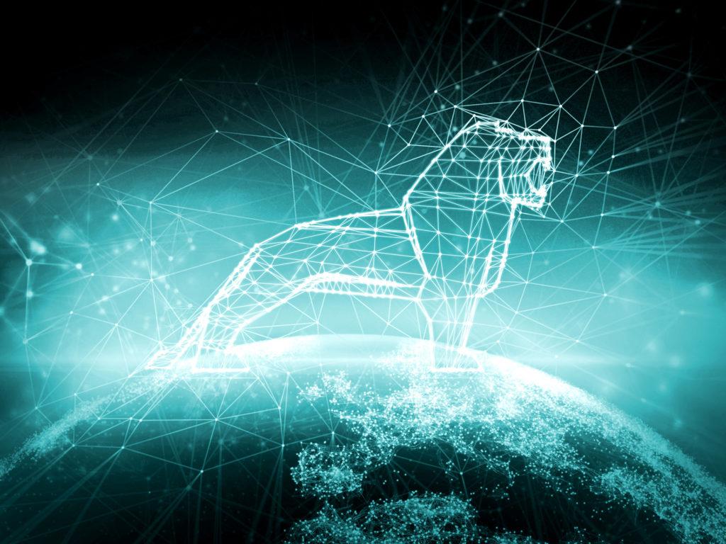 Lion Man interconnecté